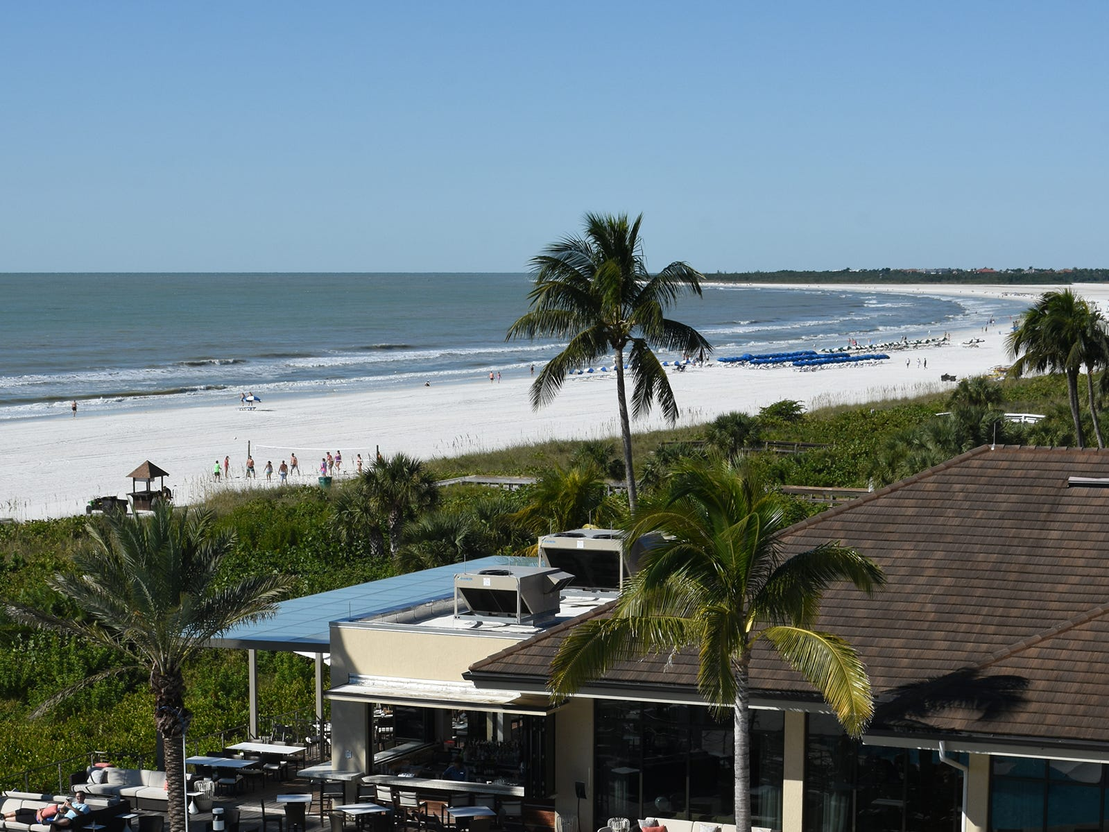 One thing that hasn't changed at the Hilton is the view. The Hilton Marco Island Beach Resort & Spa has reopened for guests, in time for Thanksgivng and the upcoming winter season, following a 1.5-year $60 million renovation.