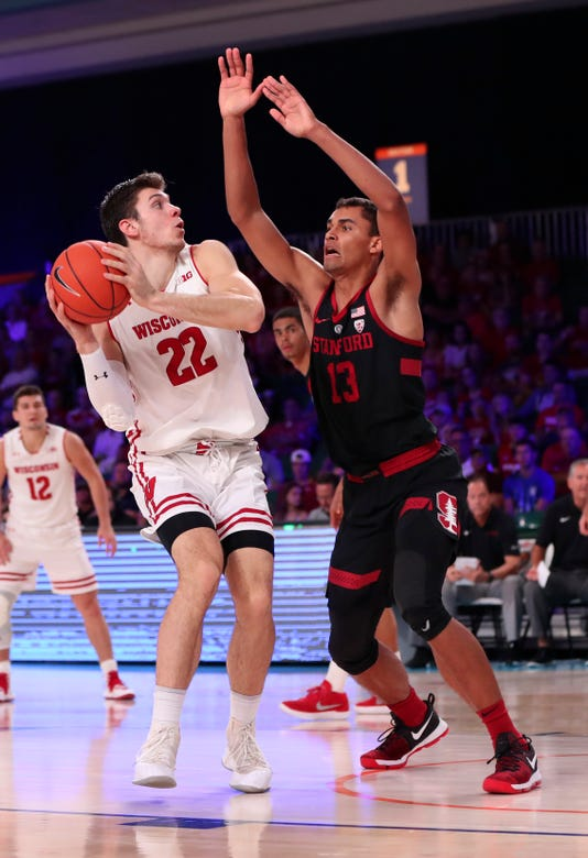 Ncaa Basketball Battle 4 Atlantis Wisconsin Vs Stanford