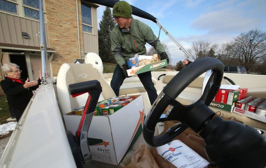 Boatload Delivered To Pewaukee Pantry