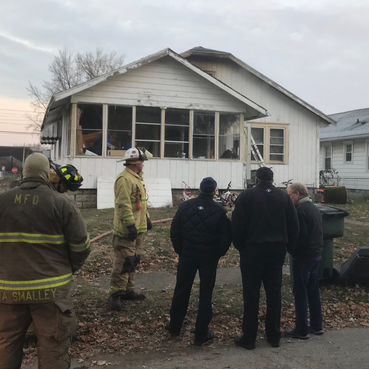 Muncie man identified as victim in fatal southside house fire