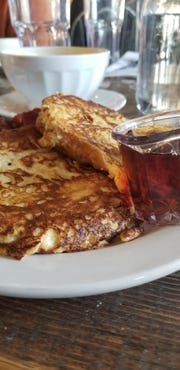 French toast at Marche.