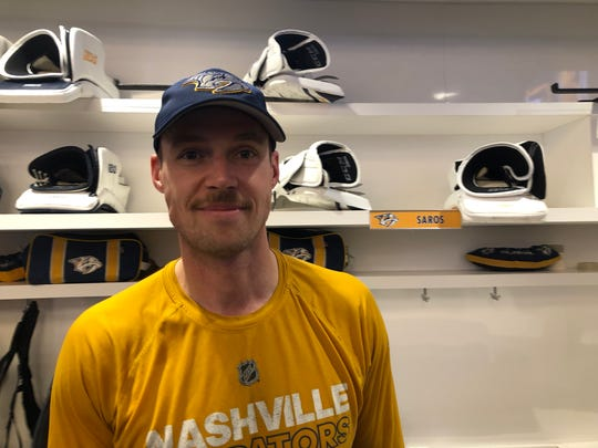 Predators goalie Pekka Rinne is growing a mustache as an ode to his father, who he said has a way better 'stache than he'll ever have.