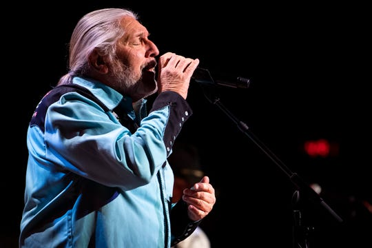 Doug Gray of the Marshall Tucker Band performs during the Grand Ole Opry at the Ryman Auditorium in Nashville on  Nov. 20, 2018. Gray, 70, is the last original member in the group.