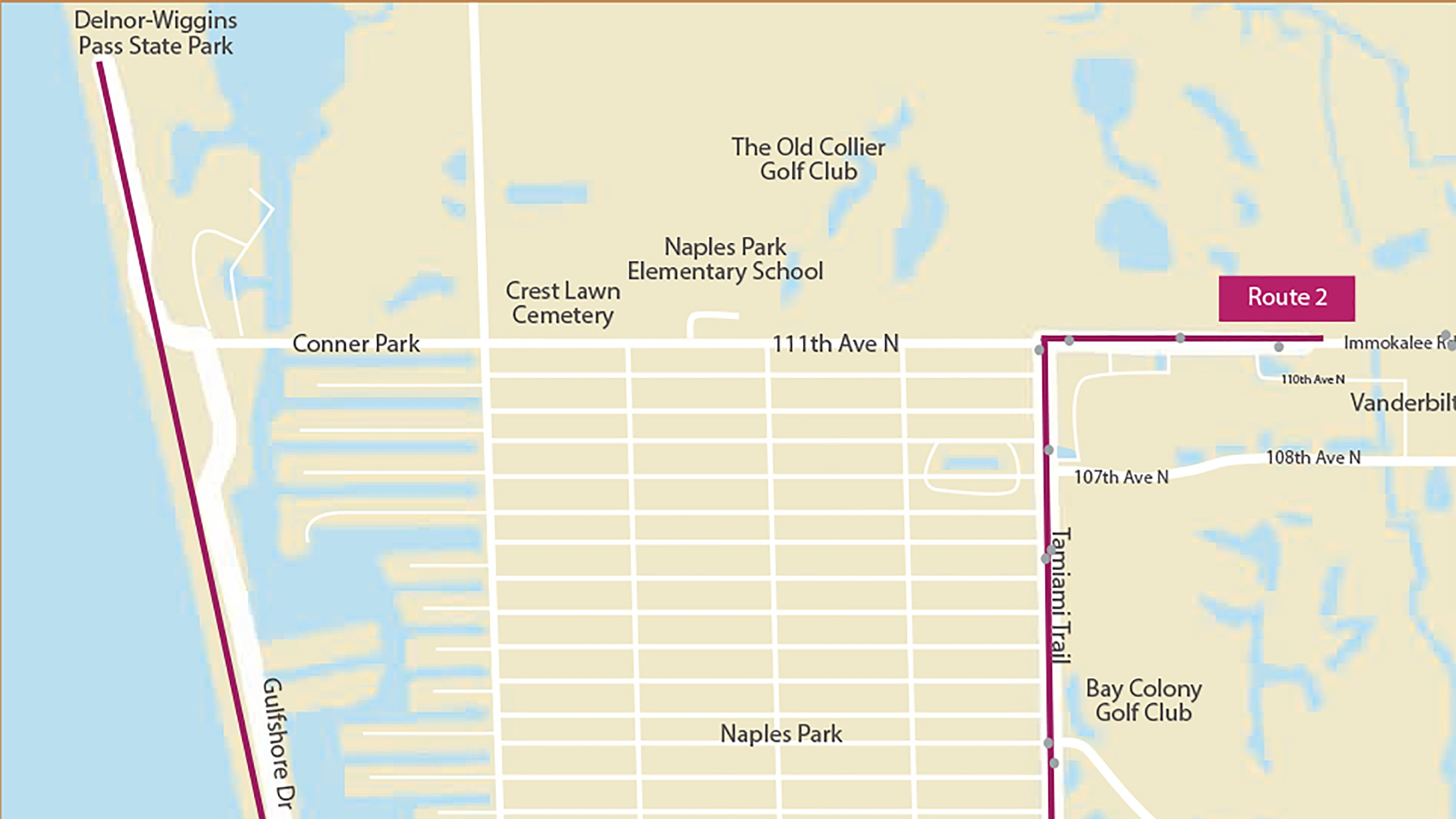 Collier County is once again offering a free shuttle service to North Collier beaches, from Nov. 23 until April 29.