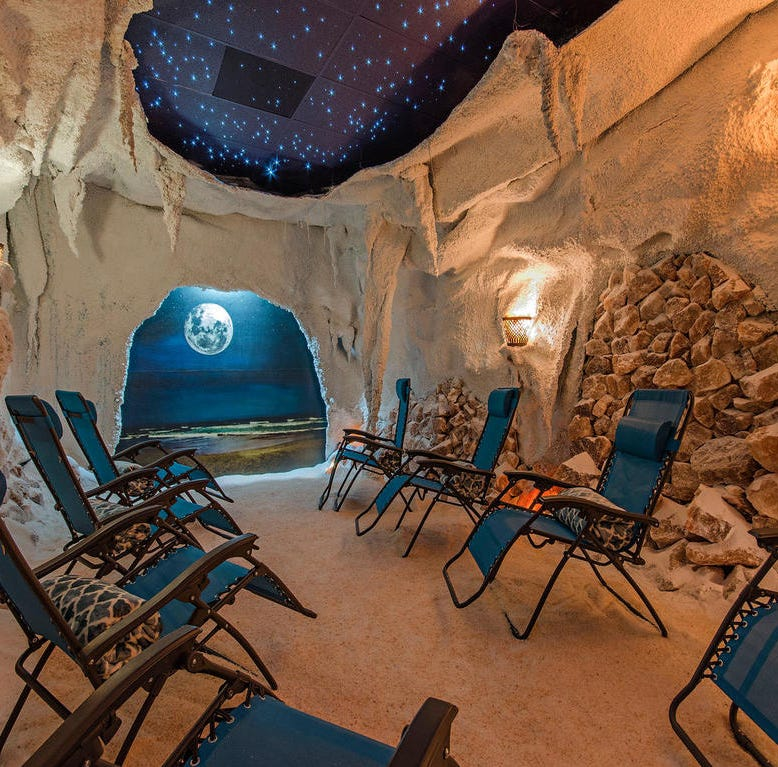 Healthy bod: Breathe better, relax in Naples salt therapy grotto