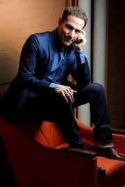 Jim Brickman appears at the Halloran Centere on Saturday.