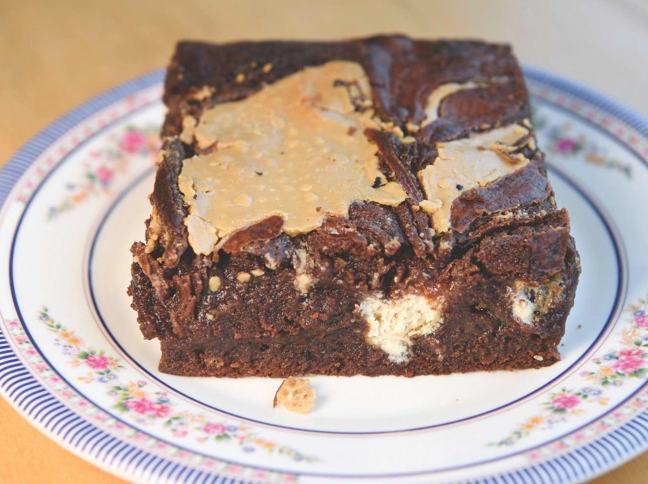 The super-moist Halva Tahini Brownie