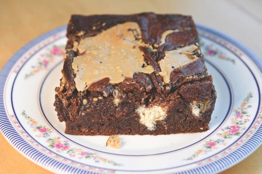 The super-moist Halva Tahini Brownie