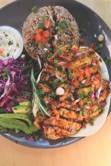 Chicken Kebab main dish