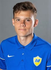 Churchill High grad Devin McCulley is a sophomore left-back for the Crusaders.