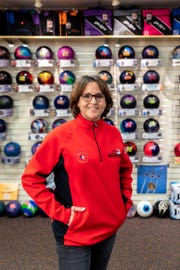 Michelle Mullen, bowling coach and co-owner of the pro shop at Country Lanes