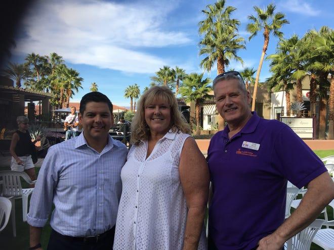 US Congressman Dr. Raul Ruiz, Mary Martin-Coor, Doug Morin