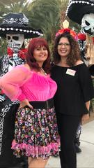 L-R Rebecca Rizzo and Gloria Franz