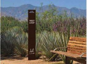 Proposed trail design for future University Park neighborhood in Palm Desert