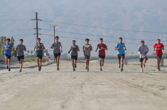 Indio Hs X Country Team