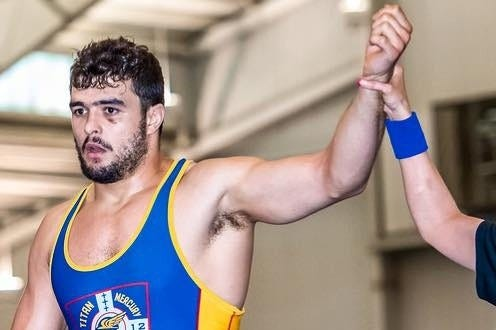 Zach Merrill, a Palm Desert grad, wrestled for team Puerto Rico in the World Championships in Budapest, Hungary in October.