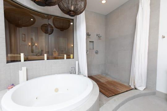18 Via Deluna Drive PH#1The spa-like master bath and shower.