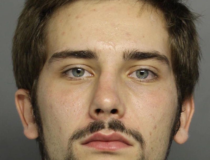 Jacob Tyler Marthers, born on 1/2/1996, 5-foot-7, wanted for possession of paraphernalia