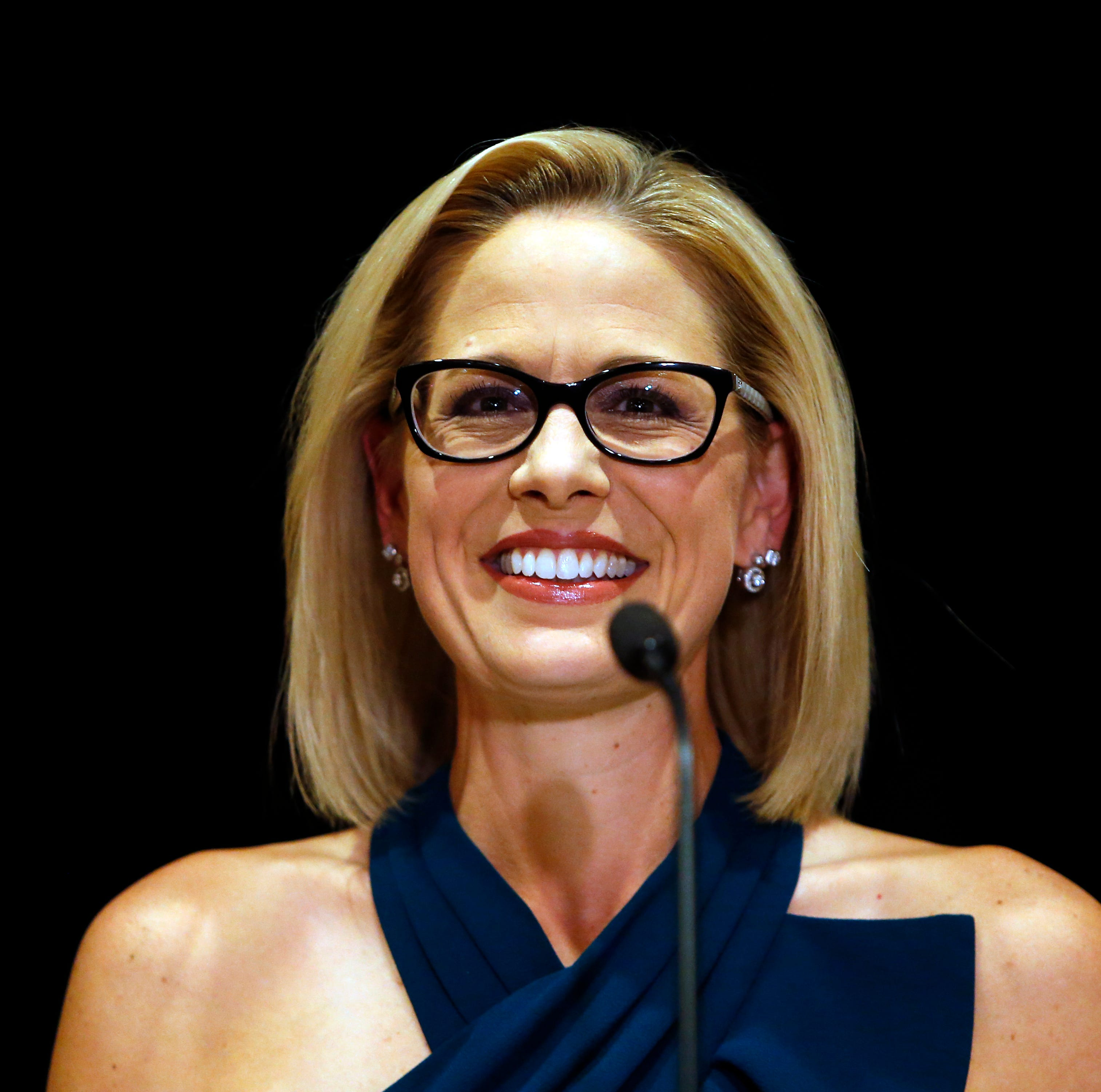 Democrat Kyrsten Sinema will be Arizona's senior U.S. senator, Gov. Doug Ducey says