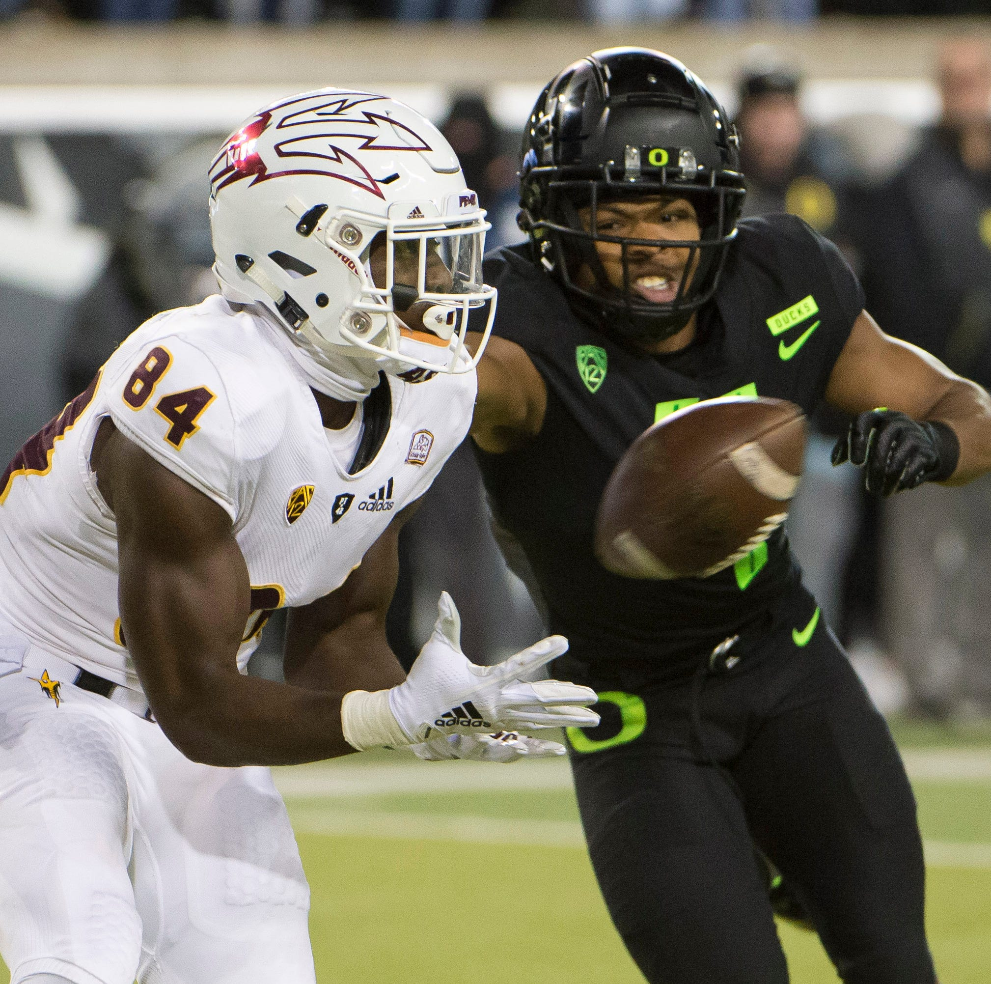 Pac-12: ASU football's two-point attempt against Oregon was reviewed by replay crew
