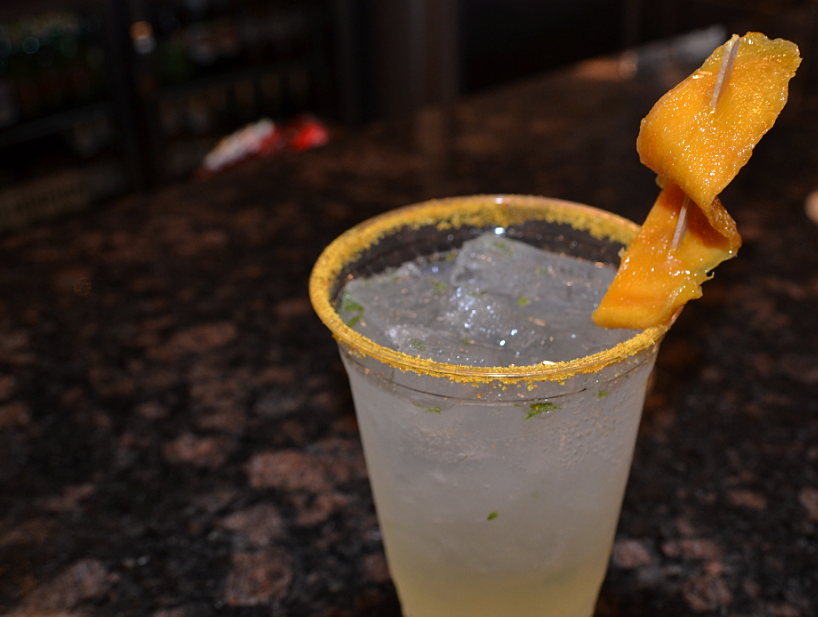 The Frida cocktail at El Charro Hipster Bar & Cafe in Phoenix is made with aguardiente mango, a handcrafted mango spirit.