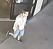 Pima County sheriff's officials seek the public's help to identify and find a man suspected of attempting to take compromising photos of a customer at a Goodwill thrift store in Tucson in September.