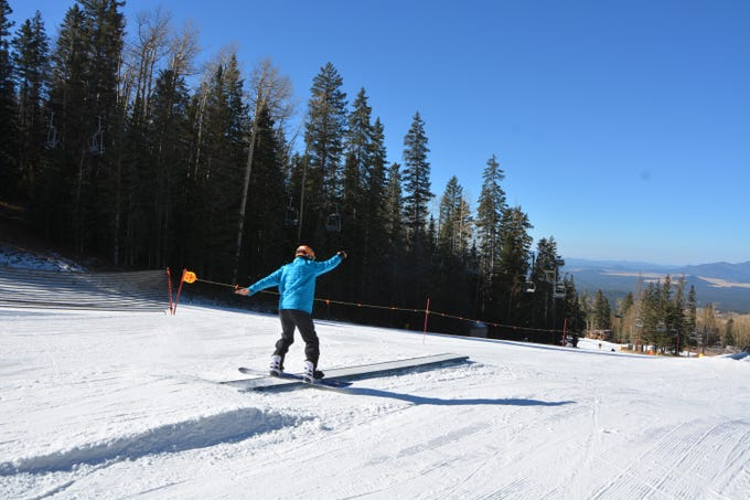 Scene from Arizona Snowbowl on Nov. 20, 2018. Snowbowl opened for season on Nov. 16.