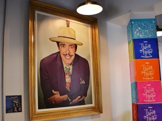Legendary Mexican actor, singer and comedian Germán Valdés, better known by his nickname Tin Tan, was part of the inspiration behind El Charro Hipster Bar & Cafe in downtown Phoenix.