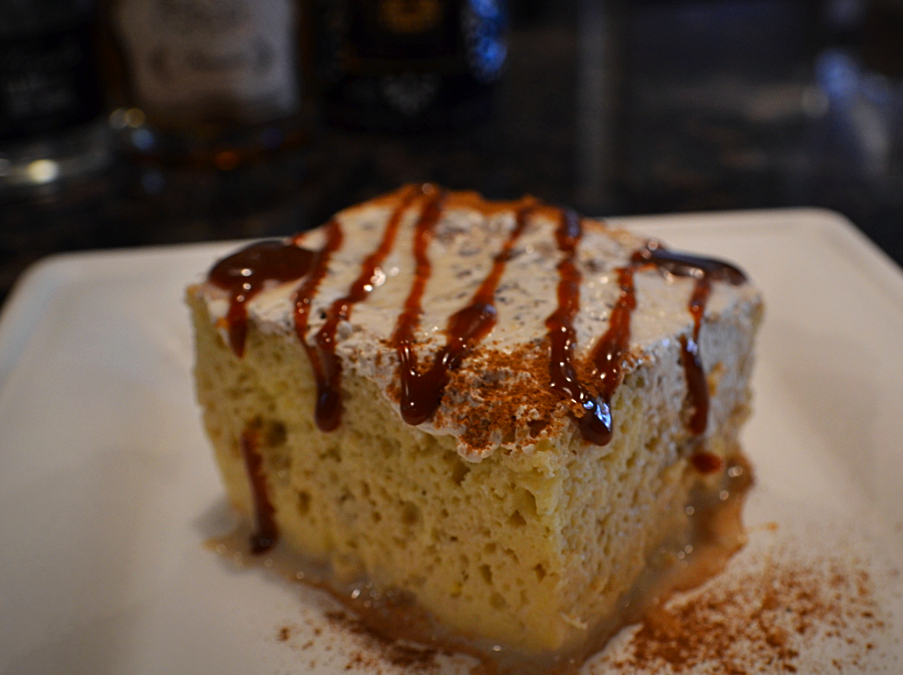 Tres leches cake is the signature dessert at El Charro Hipster Bar & Cafe in downtown Phoenix.