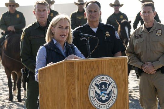 Kirstjen Nielsen, directora de seguridad interna en Estados Unidos.