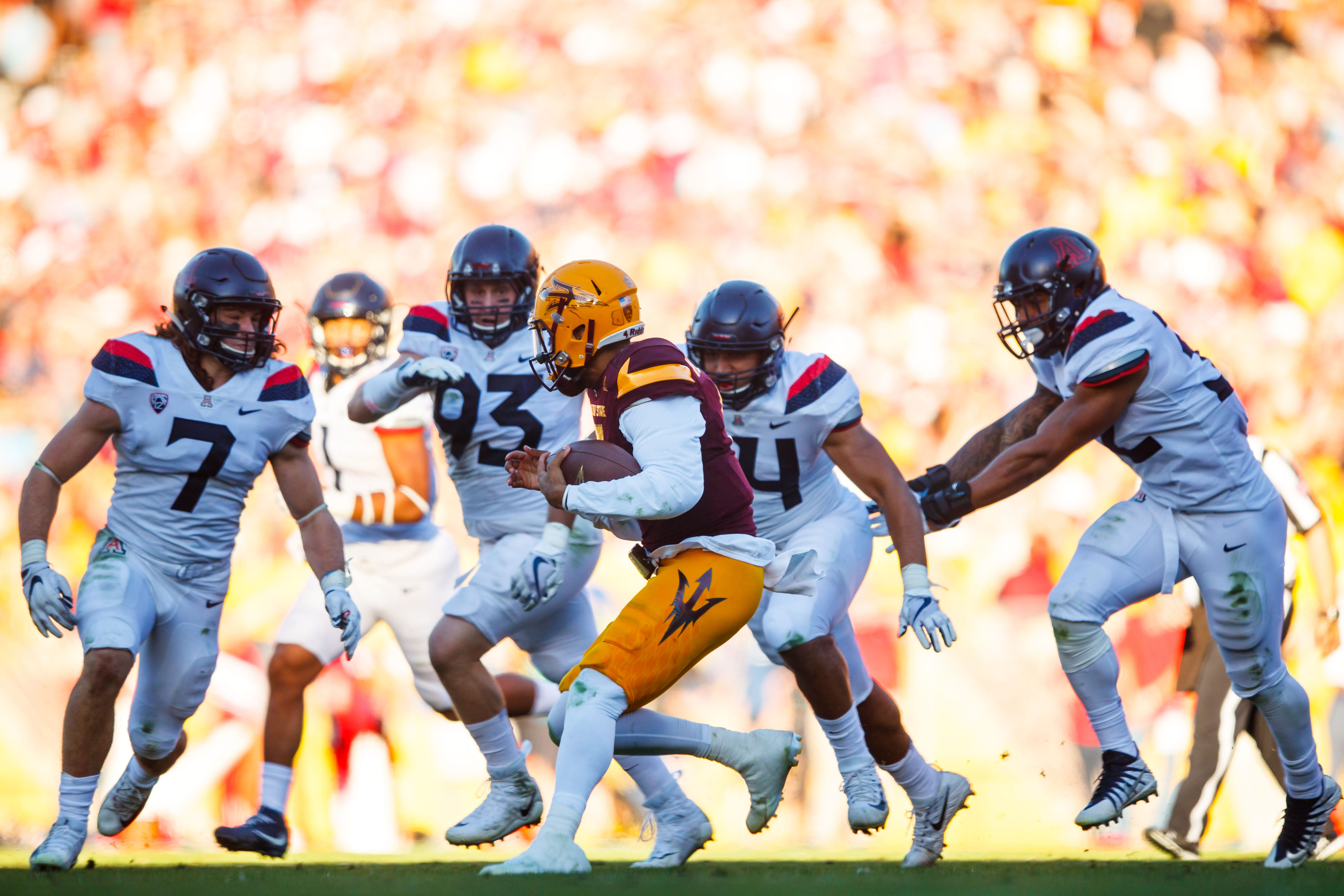 Arizona Wildcats vs Arizona State Sun Devils Football [11 ...