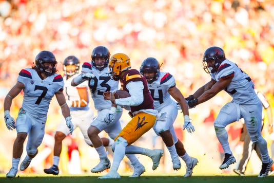 Ncaa Football Arizona At Arizona State