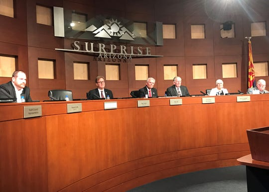 Surprise Councilman Skip Hall takes the helm as mayor of Surprise.