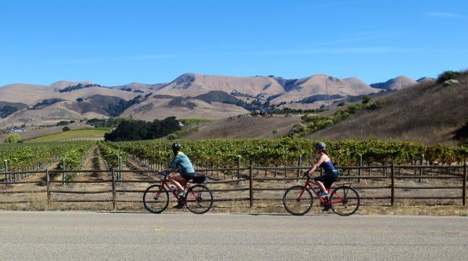 Wine Bike Tour San Luis Obispo