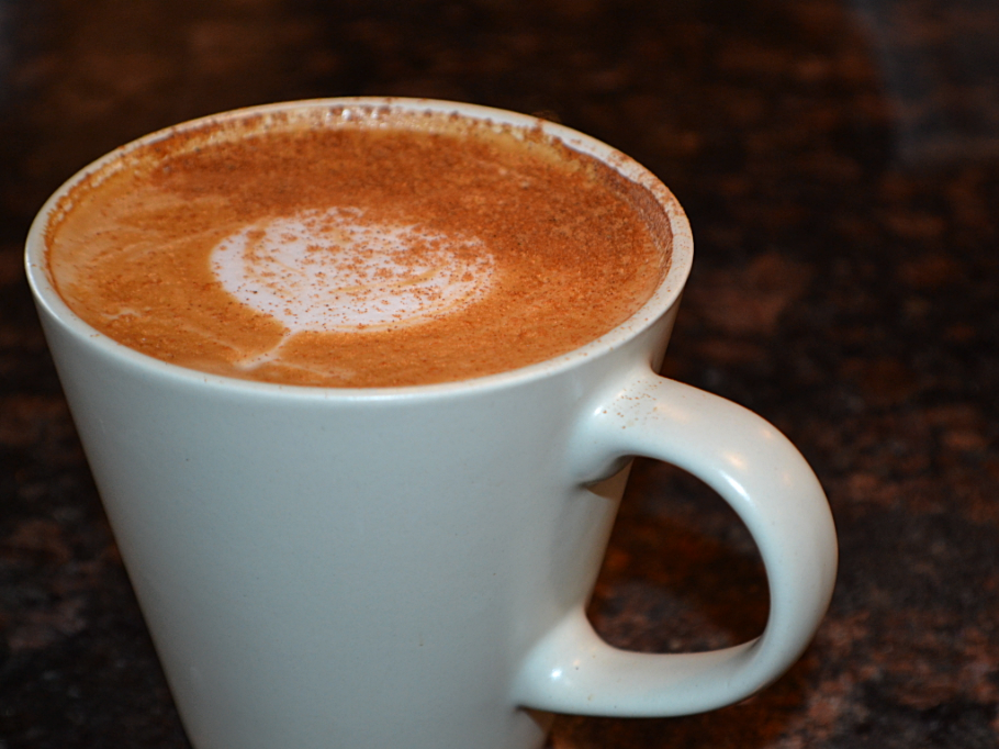 Coffee drinks at El Charro Hipster Bar & Cafe feature a special house blend made with dark roast Mexican fair trade coffee beans.