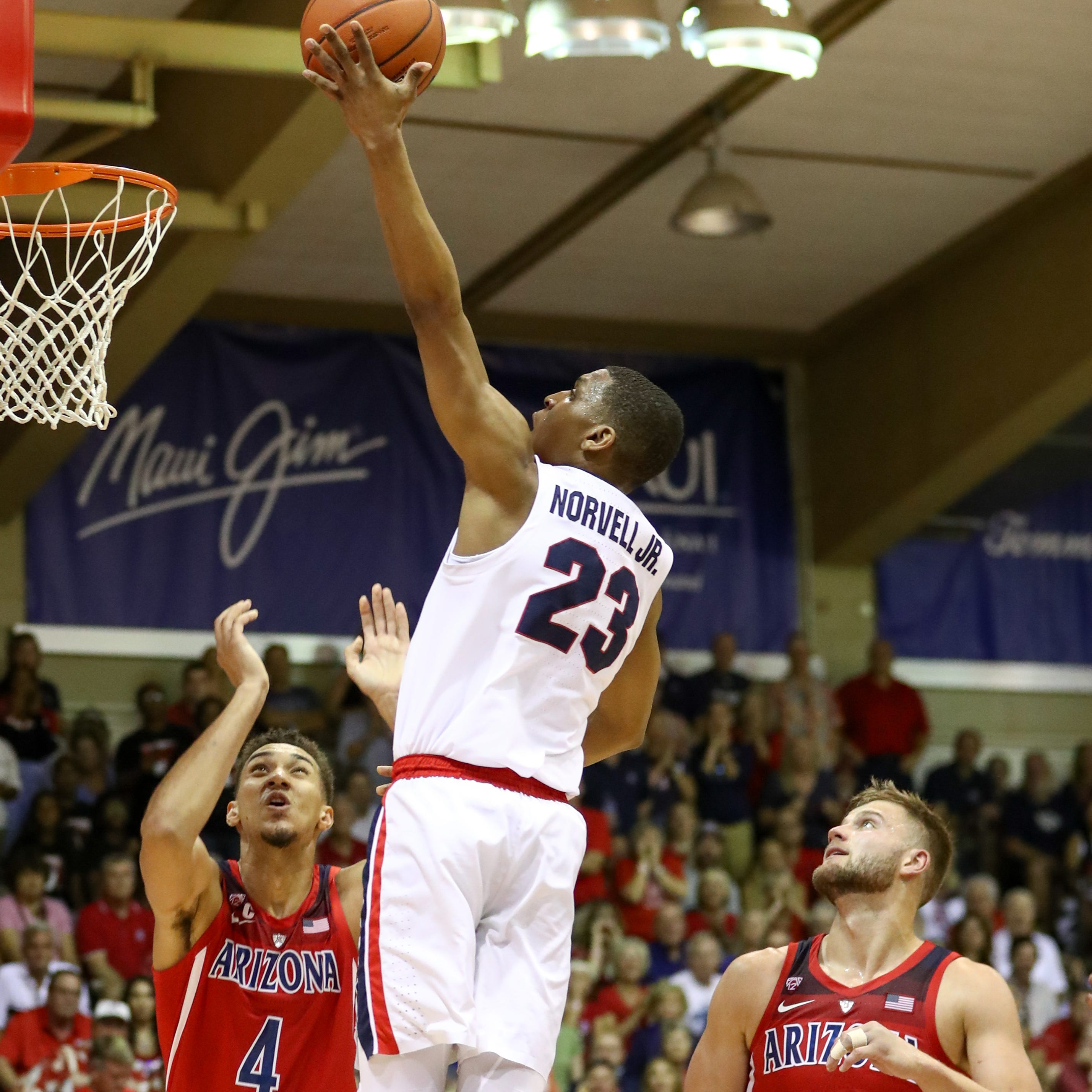 Arizona Wildcats fall apart as No. 3 Gonzaga storms back for win