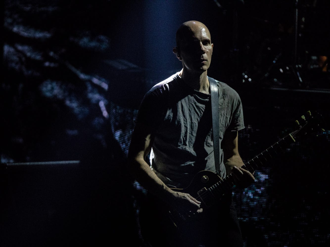 A Perfect Circle performs at Comerica Theatre on Tuesday, Nov. 20, 2018, in Phoenix.