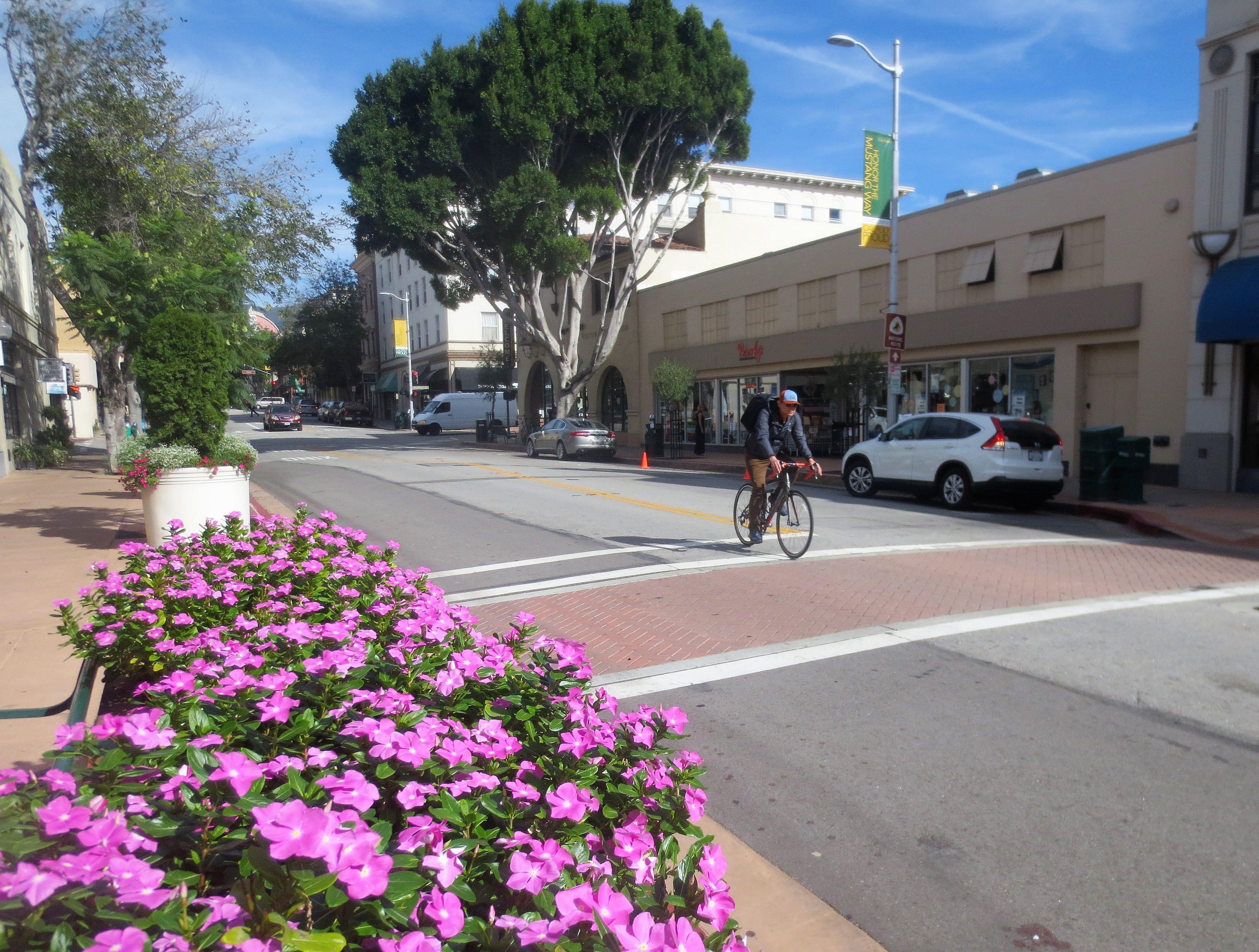 Downtown San Luis Obispo, California.