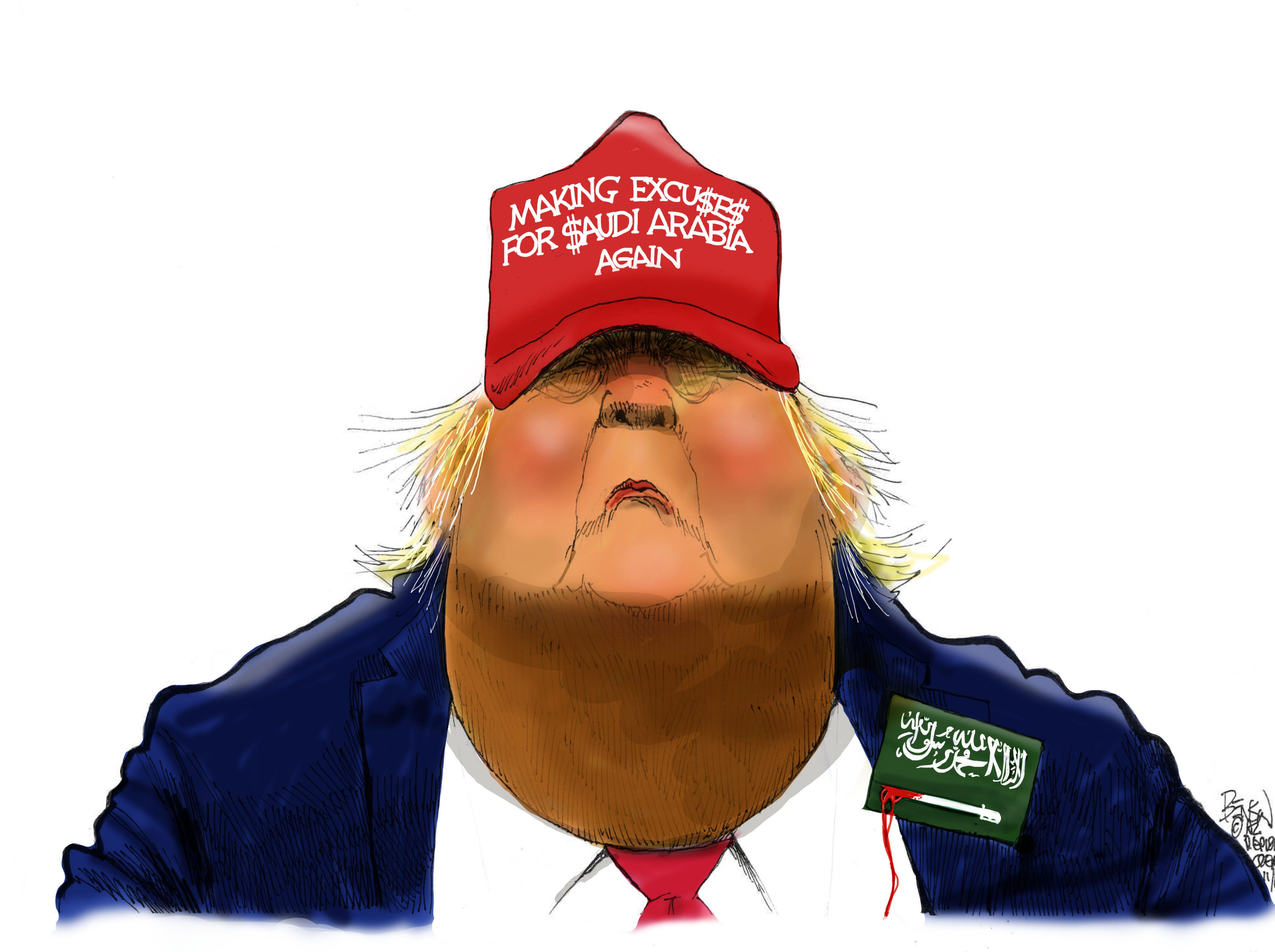 Cartoon for Nov. 21, 2018.