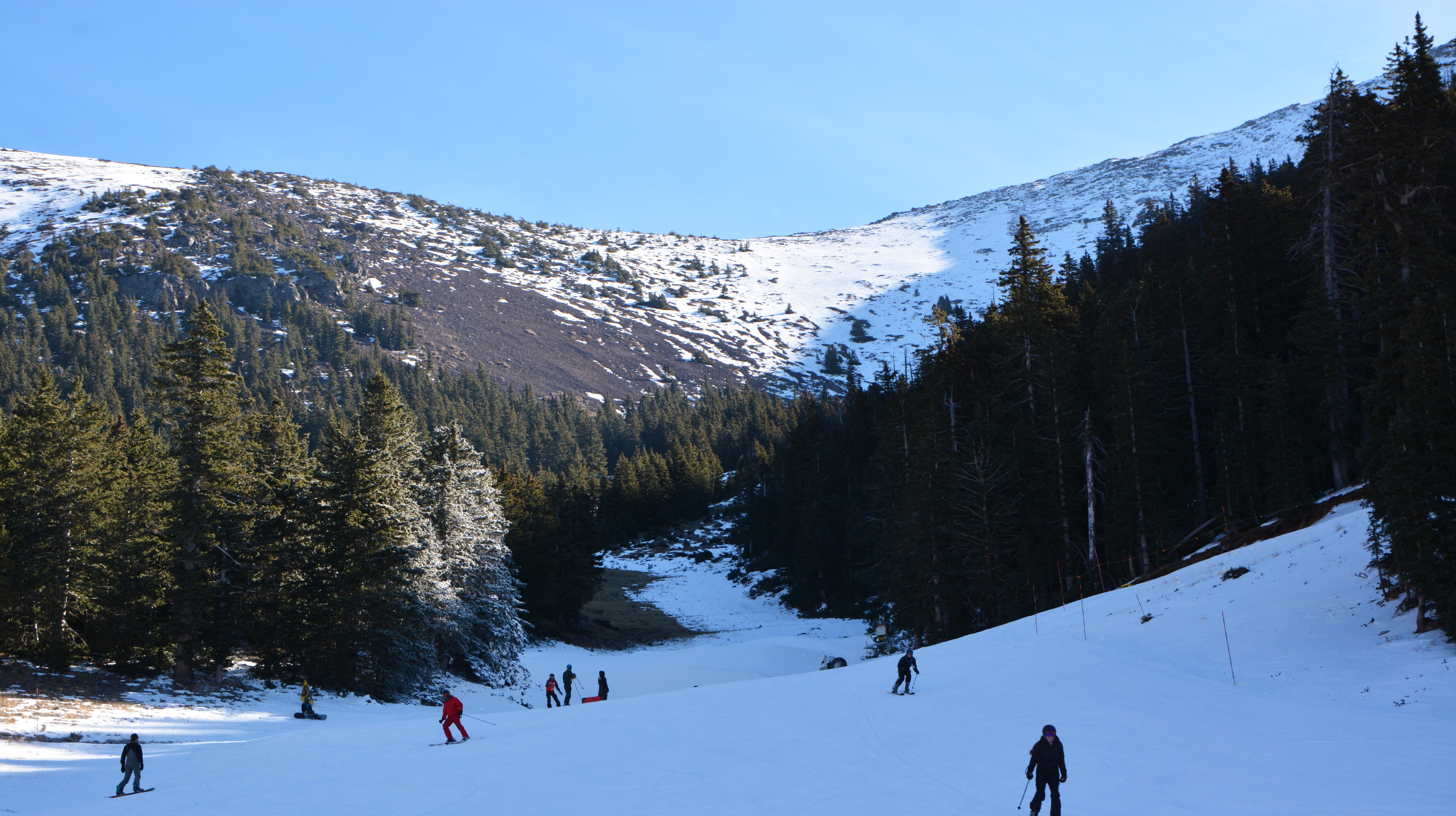 arizona skiing and sledding this weekend