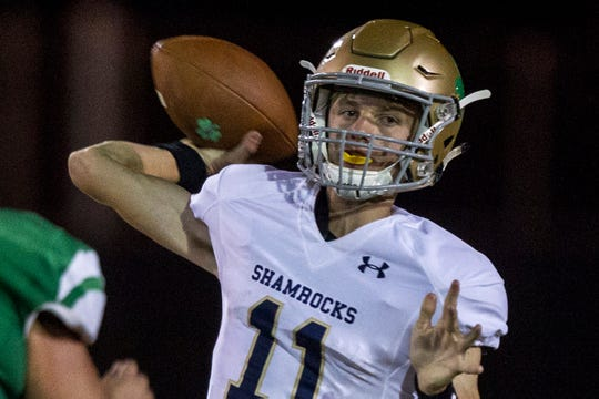 Yuma Catholic quarterback Gage Reese.