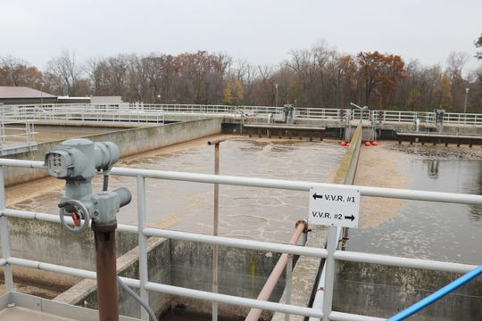Sewer rates are increasing next year for residents of Catawba Island and Portage Township, whose waste water is treated at this plant along N.W. Catawba Road.
