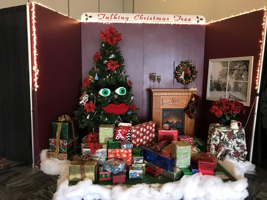There's something for everyone at the Festival of Trees — including the infamous Talking Christmas Tree.