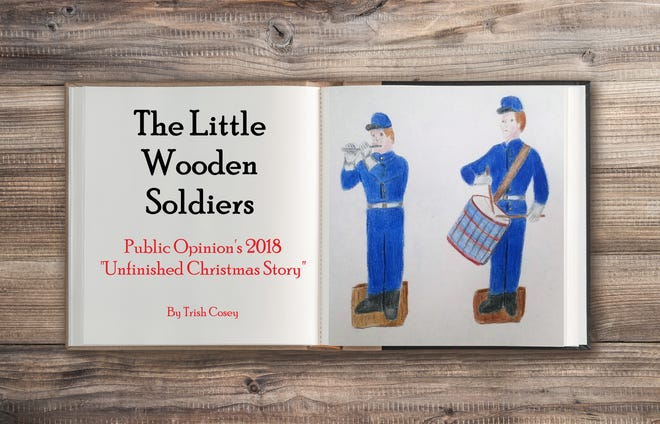"Should a pair of siblings give up prized possessions from their father, whom they may never see again, in order to help family friends build a new home? We invite local students in grades 2 through 8 to tell us, by finishing Public Opinion's 2018 Unfinished Christmas Story, ""The Little Wooden Soldiers."""