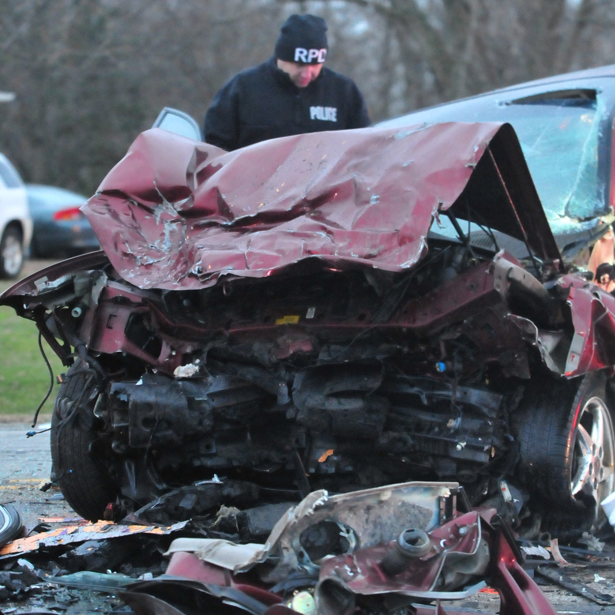 Head-on, Salisbury Road collision injures both drivers