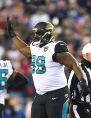 Jacksonville Jaguars defensive tackle Marcell Dareus makes his return to Buffalo Sunday.