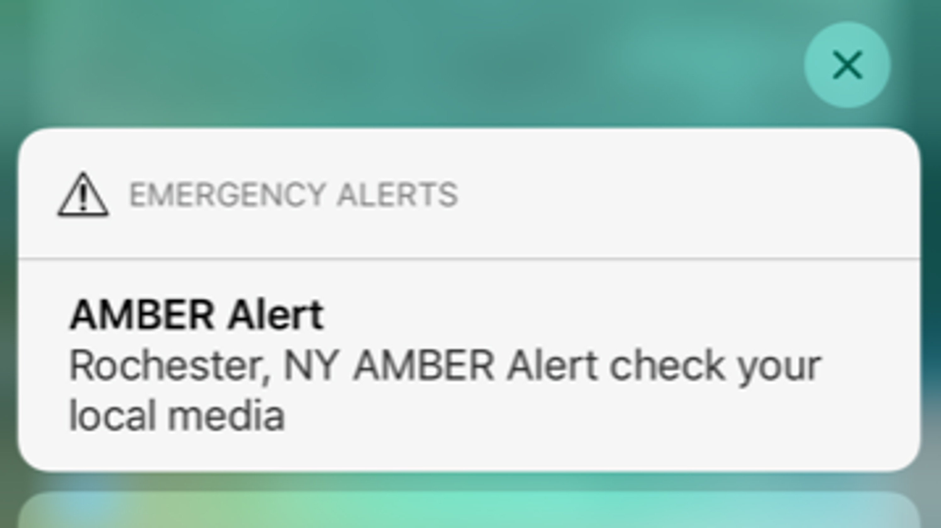 Amber Alert: Why some in Rochester, NY didn't receive the last one