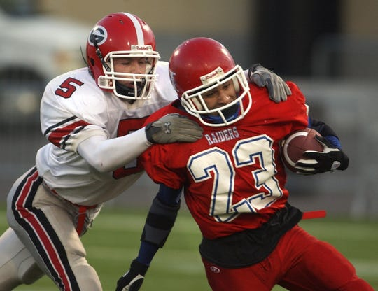Hornell's David Zapata is Section V's career rushing leader with 6,101 yards.