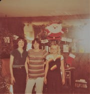 The Amy Ave Girls in 1979. Left to right: Terri Rasters,17, Lolene Rios, 17 and Marge Nelms, 16.