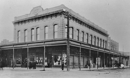 """The Independent Order of Odd Fellows Hall was built in 1888 at the southwest corner of Market and Butte streets. It's the oldest brick building in downtown Redding. The McConnell Foundation purchased the building In November 2018 with plans to determine """"the proper use for this space."""""""